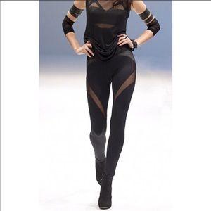 MICHI illusion leggings XS